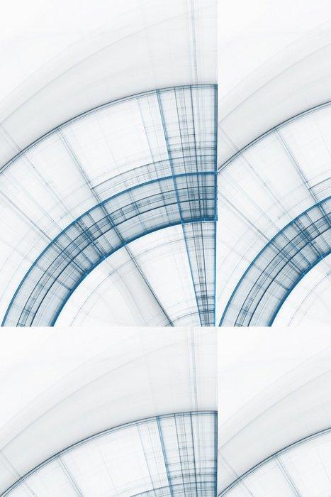 Vinylová Tapeta Abstraktní obchodní vědy a technologie na pozadí - Pozadí