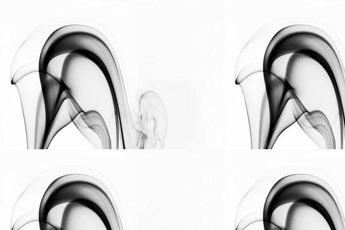 Tapeta Pixerstick Abstraktní pozadí - černého kouře tvar - Témata