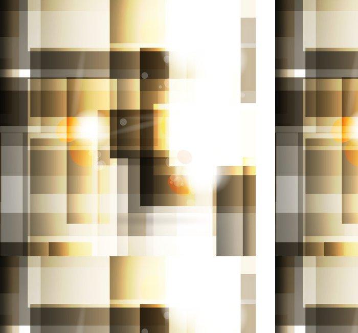 Tapeta Pixerstick Abstraktní pozadí s geometrickými prvky - Prvky podnikání