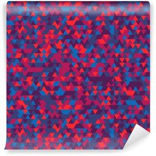 Vinylová Tapeta Abstraktní pozadí trojúhelníků. Gradace Violet. Fialové odstíny.