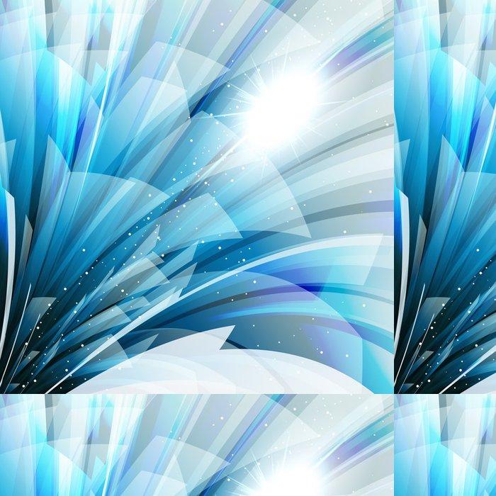 Vinylová Tapeta Abstraktní pozadí wiht transparentní modro-šedé prvky. - Styly