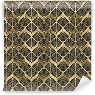 Vinylová Tapeta Abstraktní umění deco bezproblémové moderní dlaždice vzor