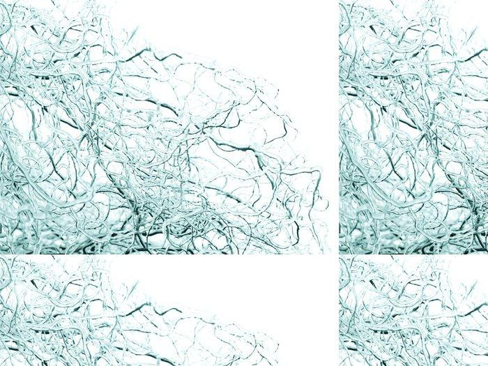 Tapeta Pixerstick Abstraktní zimní pozadí - Abstraktní