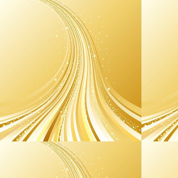 Tapeta Pixerstick Abstraktní zlatý tekoucí, vánoční pozadí - Mezinárodní svátky