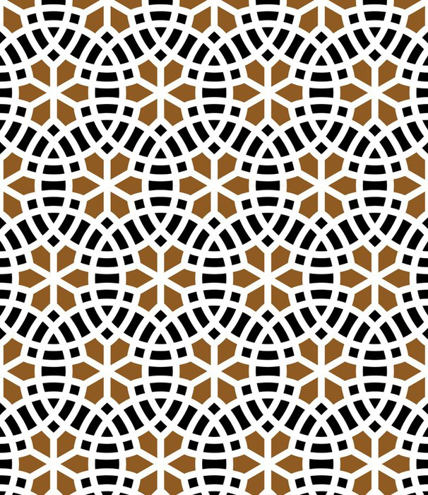 Vinylová Tapeta Adil bezešvé vzor Two - Střední Východ