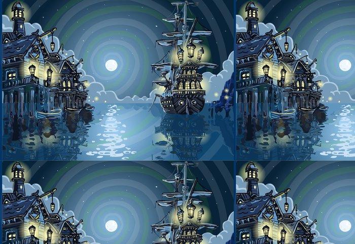 Tapeta Pixerstick Adventure Island - Pirates Cove Bay - Voda