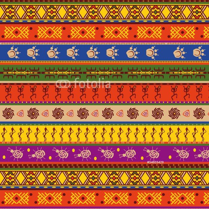 Tapeta Pixerstick Africké vzor - Afrika