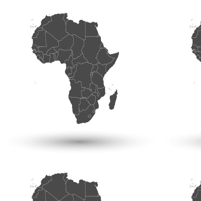 Vinylová Tapeta Afrika mapa pozadí vektor - Doplňky a věci