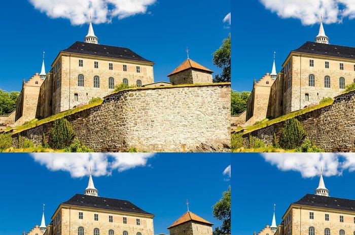 Tapeta Pixerstick Akershus pevnost - Evropská města