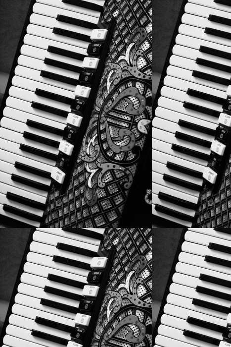 Tapeta Pixerstick Akordeon - Hudba