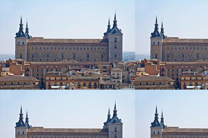Tapeta Pixerstick Alcazar de Toledo - Veřejné budovy