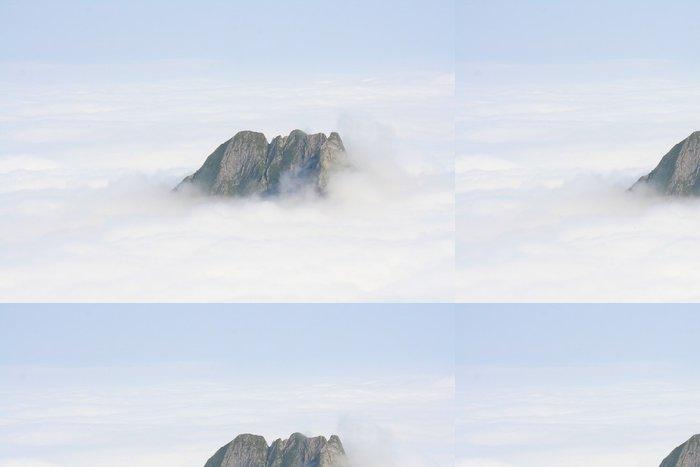 Tapeta Pixerstick Allgäuer Alpen v Wolken - Blick auf die Höfatz - Outdoorové sporty