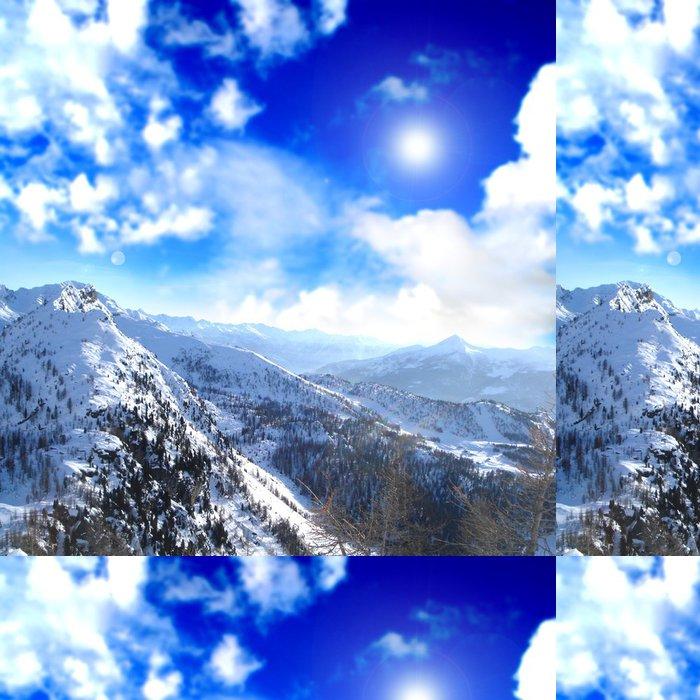 Tapeta Pixerstick Alpine relaxační krajiny - Evropa