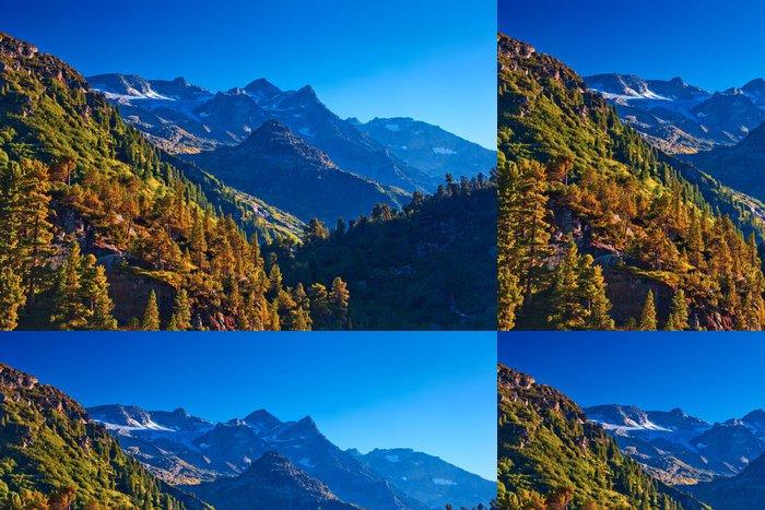 Vinylová Tapeta Alpy hory - Hory
