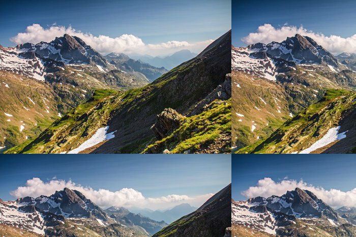 Vinylová Tapeta Alpy - Evropa