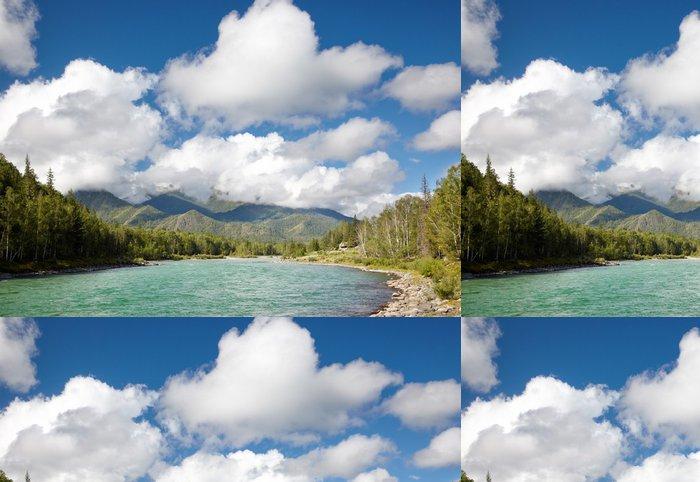Tapeta Pixerstick Altai řeka Katun - Asie