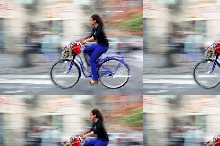 Tapeta Pixerstick Alternativou ekologické čisté dopravy - Cyklistika