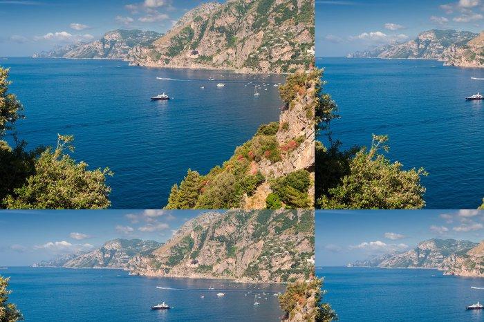 Tapeta Pixerstick Amalfi Coast pohled - Evropa