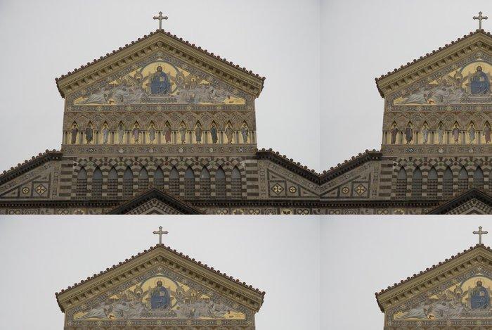 Tapeta Pixerstick Amalfi katedrála - Veřejné budovy