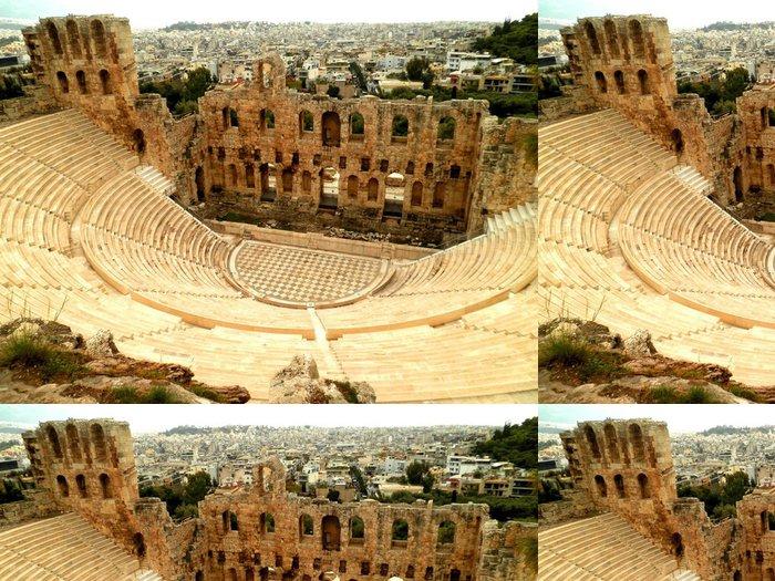 Vinylová Tapeta Amfiteátr v Aténách - Evropská města
