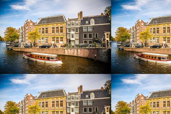 Vinylová Tapeta Amsterdam panoráma města - Evropská města