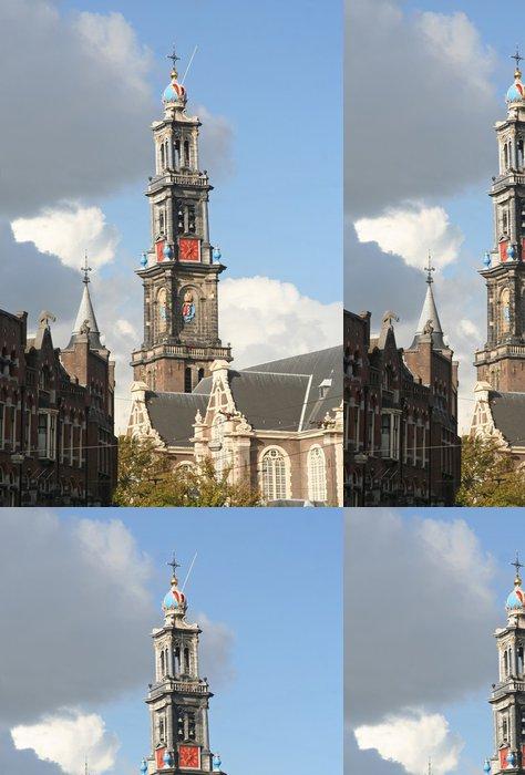 Tapeta Pixerstick Amsterdam Wester církev - Evropská města
