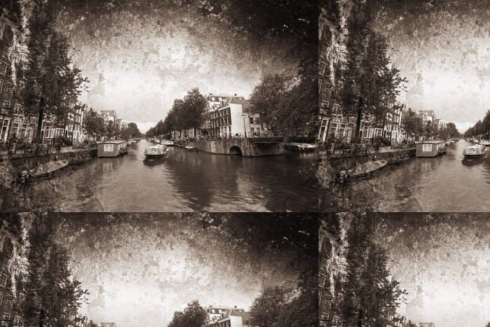 Tapeta Pixerstick Amsterdam - Město