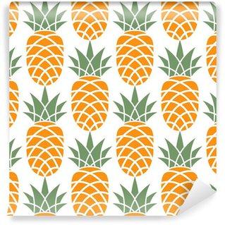 Vinylová Tapeta Ananas vzor