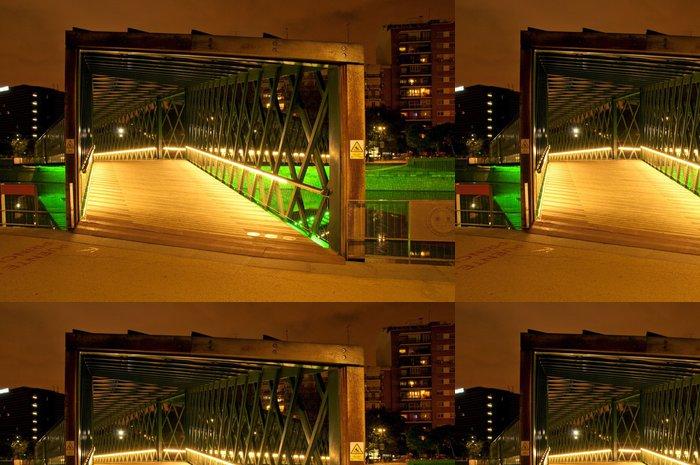 Vinylová Tapeta Andorra Bridge v Rio Madrid - Infrastruktura