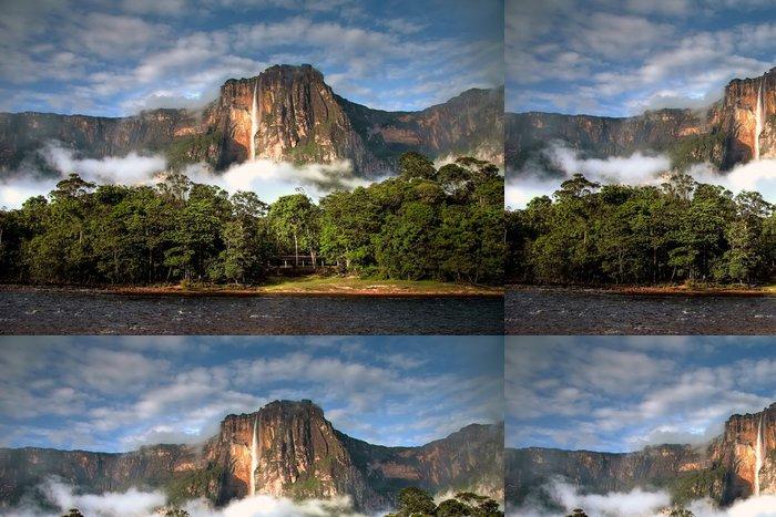 Tapeta Pixerstick Angel Falls v ranním světle - Témata