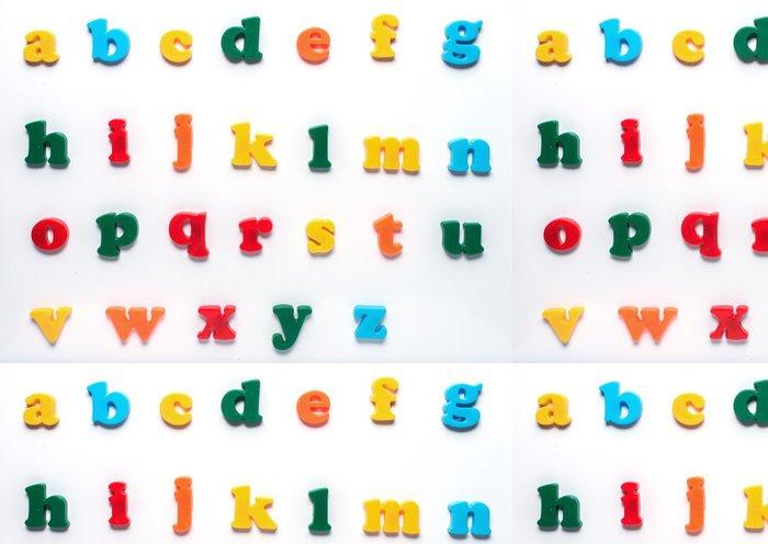 Tapeta Pixerstick Angličtina hračka abeceda - Jiné pocity