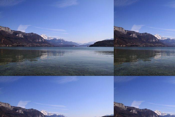 Tapeta Pixerstick Annecy jezero - Evropa