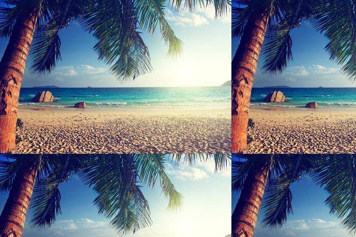 Vinylová Tapeta Anse Lazio Beach Ostrov Praslin, Seychely - Voda