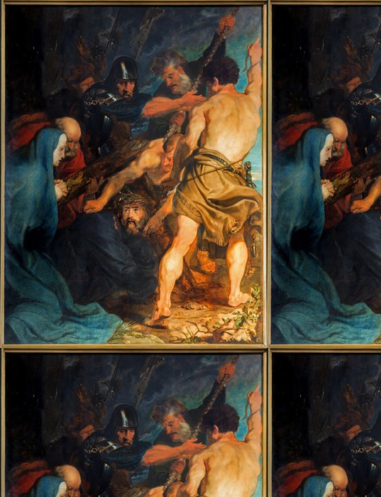 Tapeta Pixerstick Antverpy - K Carryng kříže Anthony Van Dyck - Cestování
