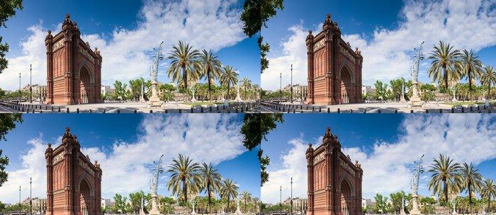Tapeta Pixerstick Arc de Triomf - Barcelona - Evropská města