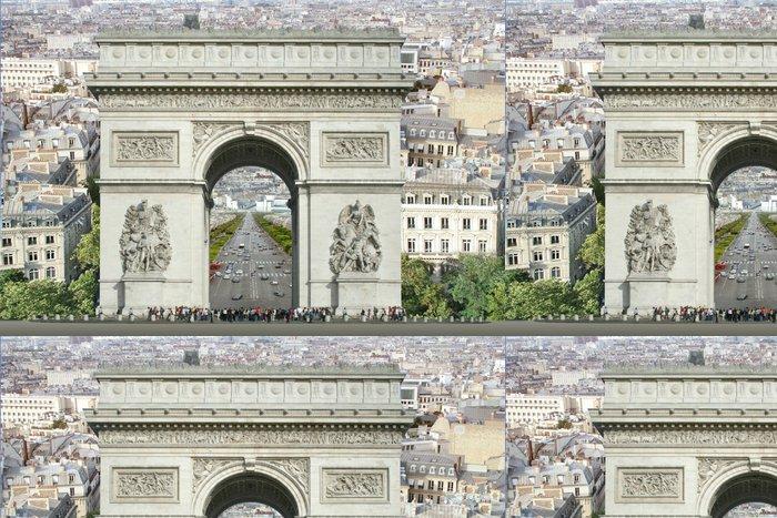 Tapeta Pixerstick Arc De Triomphe - Evropská města