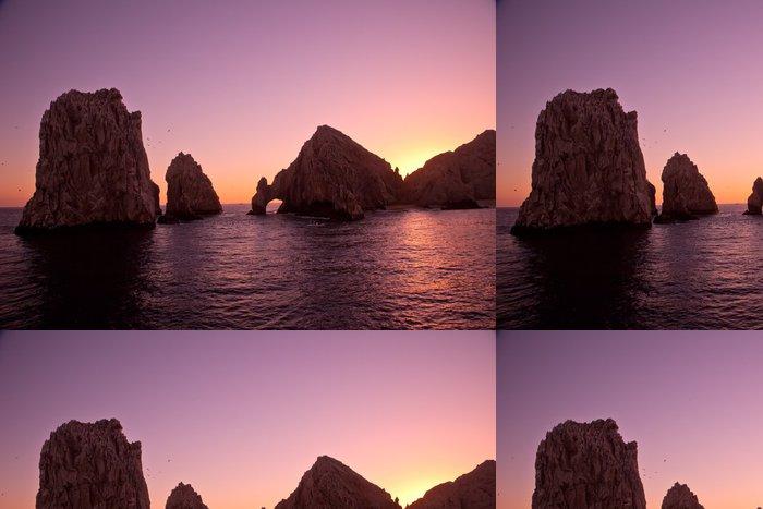Tapeta Pixerstick Arch a Lands End při západu slunce, Cabo San Lucas, Mexiko - Amerika