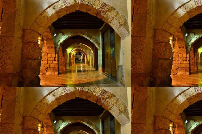 Tapeta Pixerstick Arcos de la Mercería - Evropská města