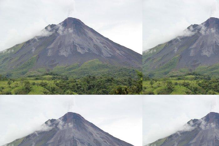 Tapeta Pixerstick Arenal Volcano--deštného pralesa Střední Ameriky - Přírodní katastrofy