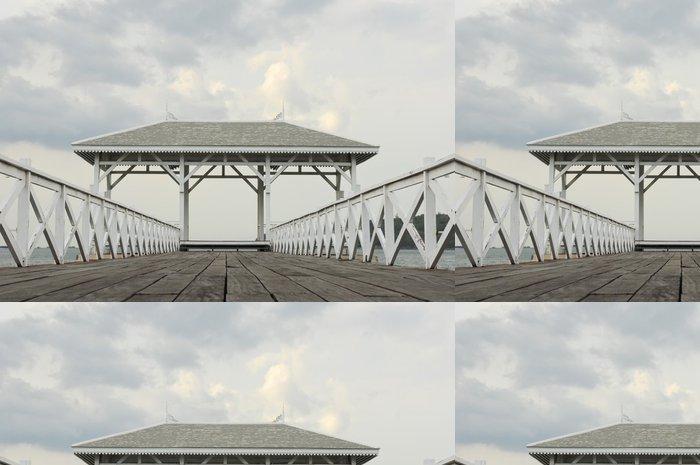 Tapeta Pixerstick Asadang most v Sichang Island, Thajsko - Nebe