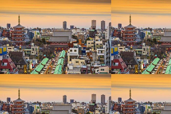 Vinylová Tapeta Asakusa Tokio Japonsko - Asijská města