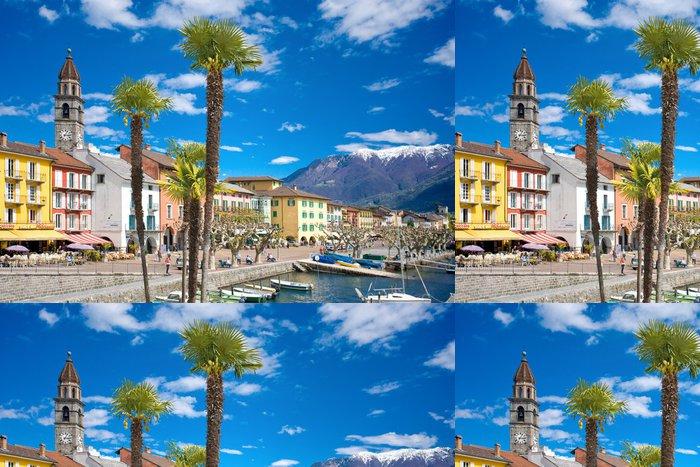 Tapeta Pixerstick Ascona - Evropa