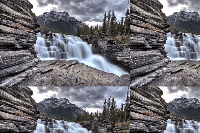 Tapeta Pixerstick Athabasca Vodopád Alberta Canada - Voda