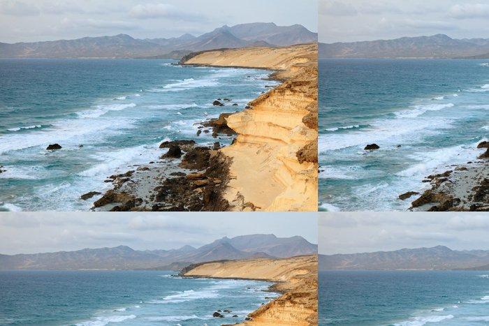 Tapeta Pixerstick Atlantský oceán pobřeží - Voda