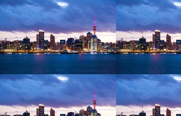 Tapeta Pixerstick Auckland skyline - Témata