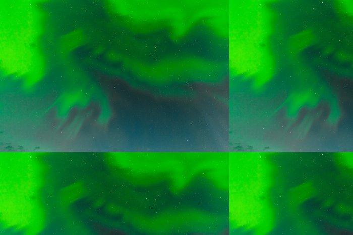 Tapeta Pixerstick Aurora borealis víří NightSky vzor pozadí - Meziplanetární prostor
