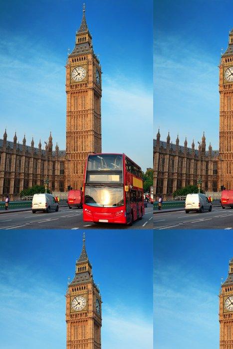 Tapeta Pixerstick Autobus v Londýně - Témata