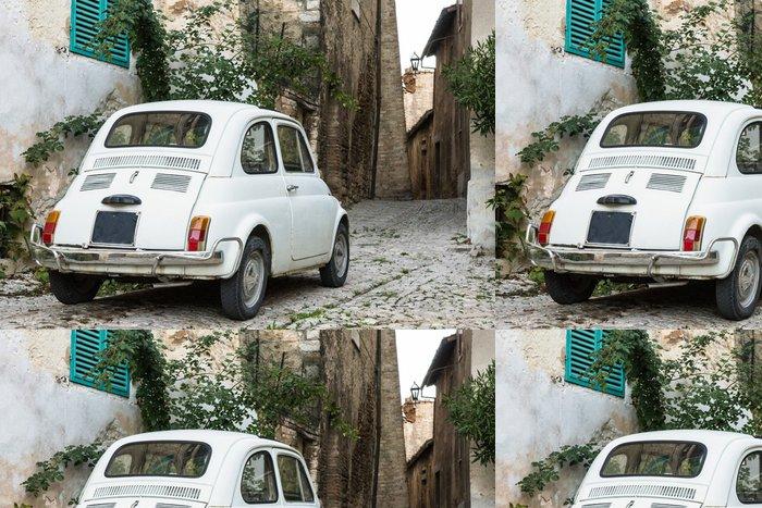 Tapeta Pixerstick Automobil vintage italiana - Na cestě