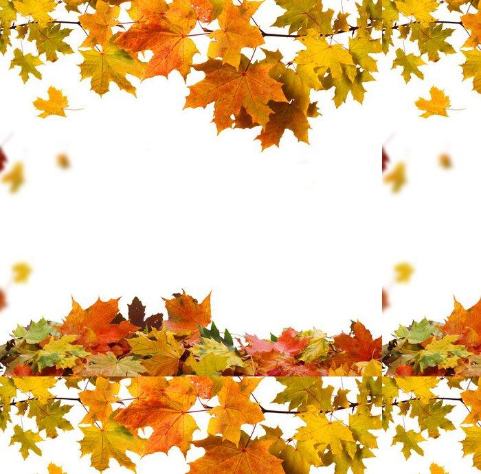 Tapeta Pixerstick Autumn leaves - Roční období