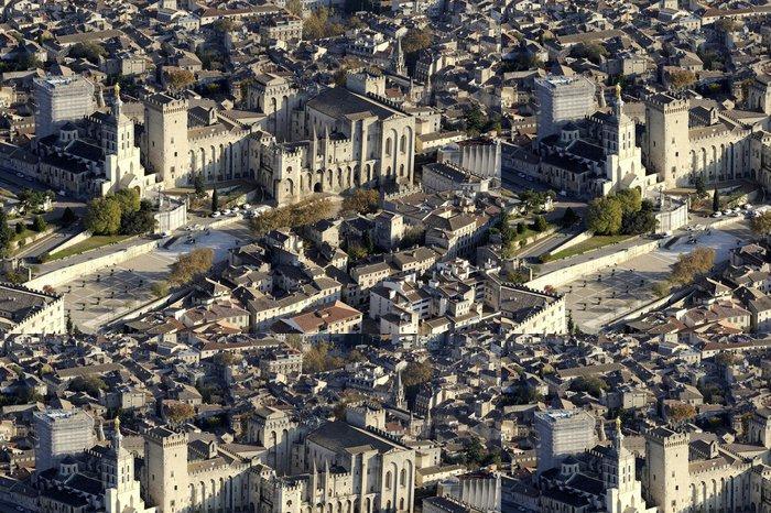 Tapeta Pixerstick Avignon Aerienne - Ostatní Ostatní